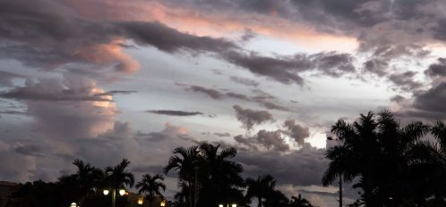 Marco Island Esplanade sunset