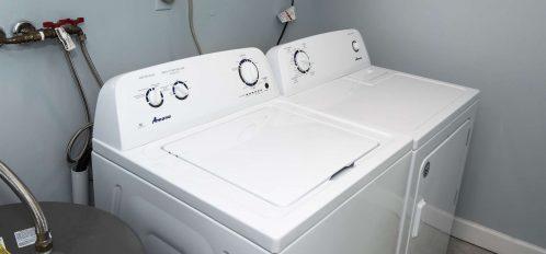 Marco Island Lakeside Inn Standard Villa 2BR-1BA Laundry Room