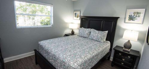 Marco Island Lakeside Inn Villa 2BR-1BA Bedroom A