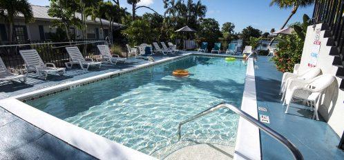 Marco Island Lakeside Inn exterior pool