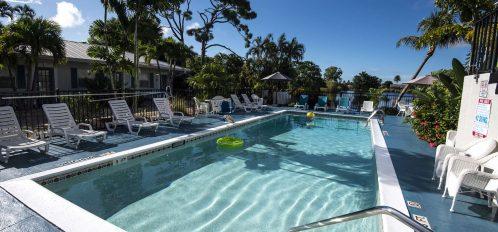 Marco Island Lakeside Inn exterior pool first level