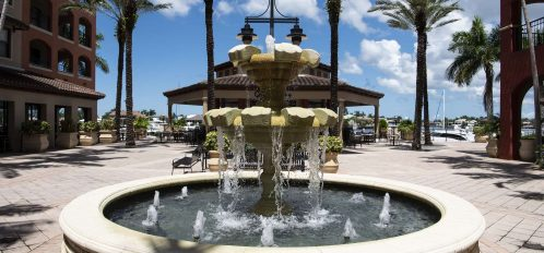 Marco Island area esplanade fountain