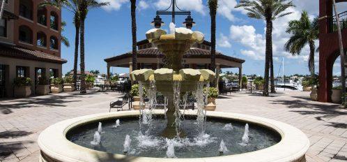 Marco Island area esplanade fountain